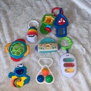 Baby teething toy bundle